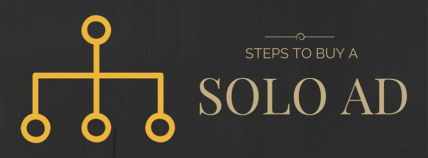 Steps to buy a solo ad