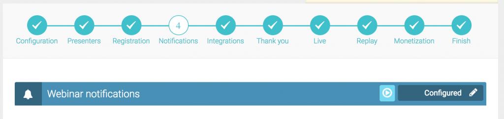 everwebinar settings notifications