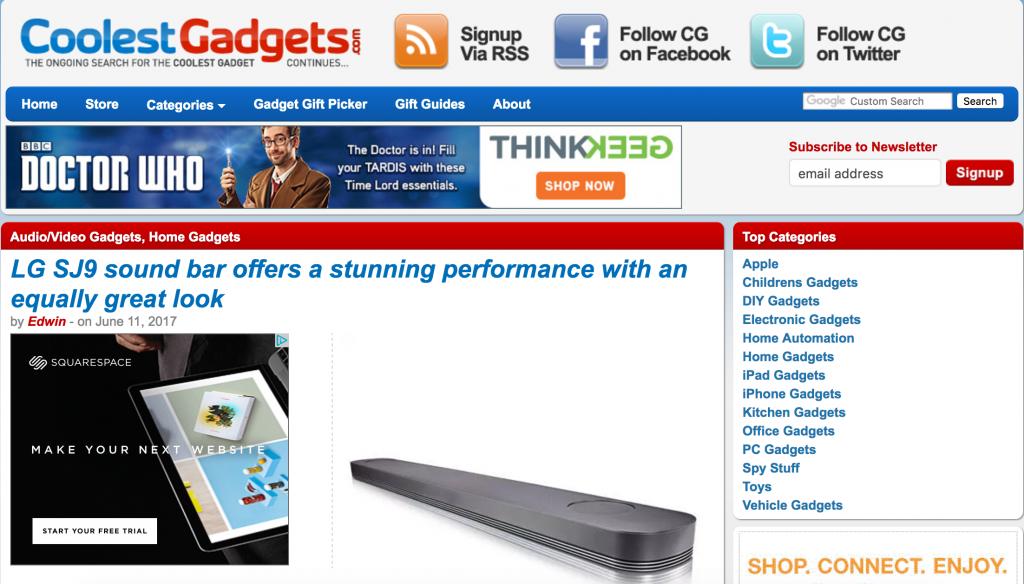 coolest gadgets blog