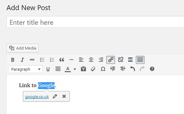 Inline Linking