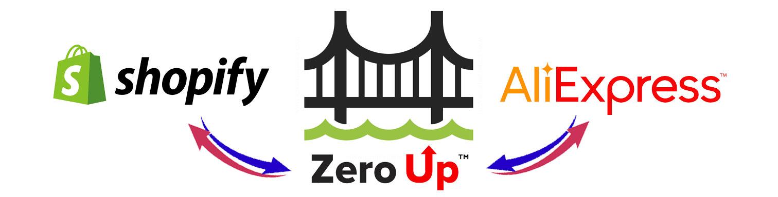 shopify zeroup aliexpress