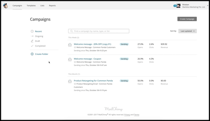 Common Panda Email Marketing Campaigns