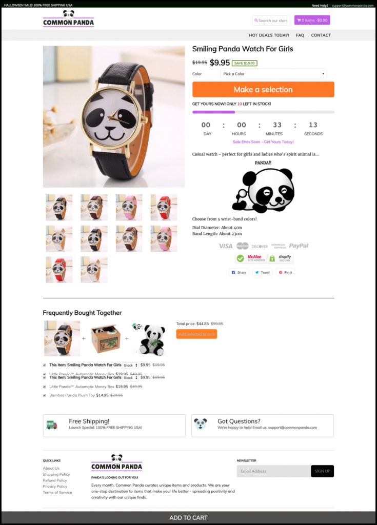 How We Built A Successful Shopify Store In 30 Days