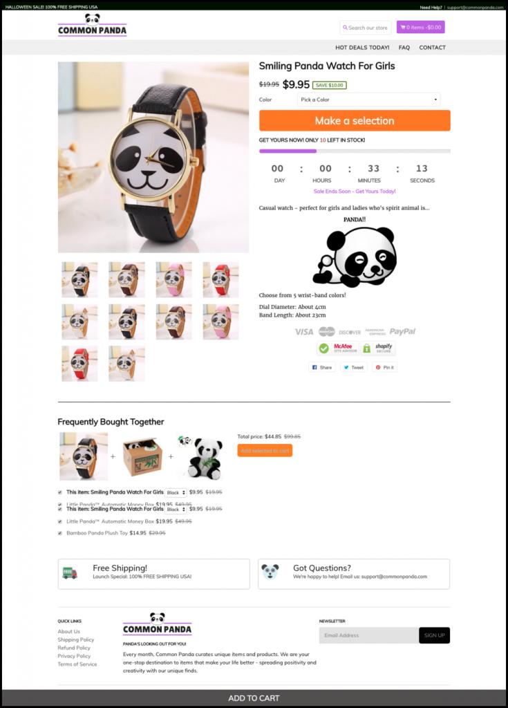 CommonPanda Shopify Theme