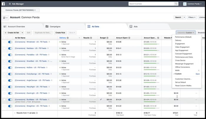 FB Ads First Day of Reporting Shopify Sales
