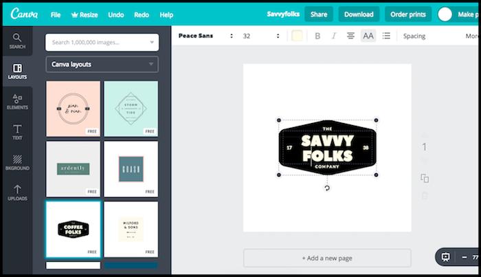 Canva Logo Design