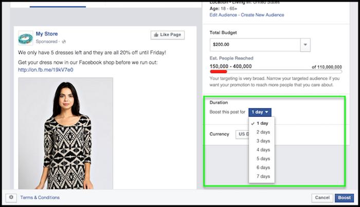 Facebook Copywriting