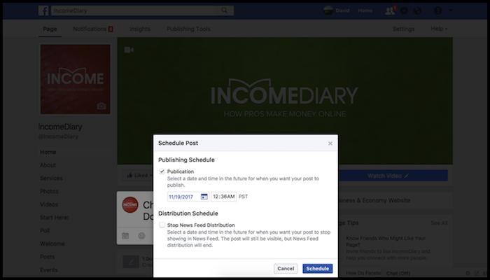 Schedule FB Posts Shopify Tutorial