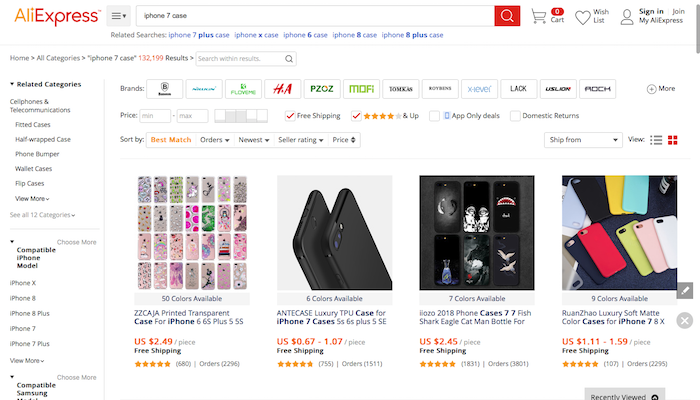 AliExpress Dropshipping Winning Product Category Drilling