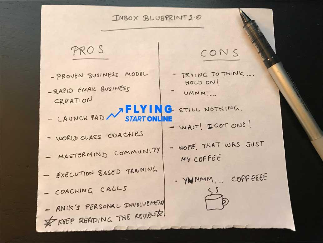 inbox blueprint pros cons