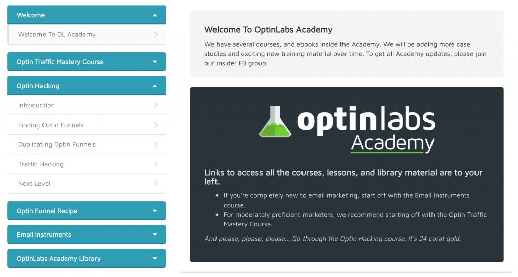 optinlabs academy bonus