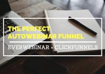 everwebinar+clickfunnels perfect autowebinar funnel
