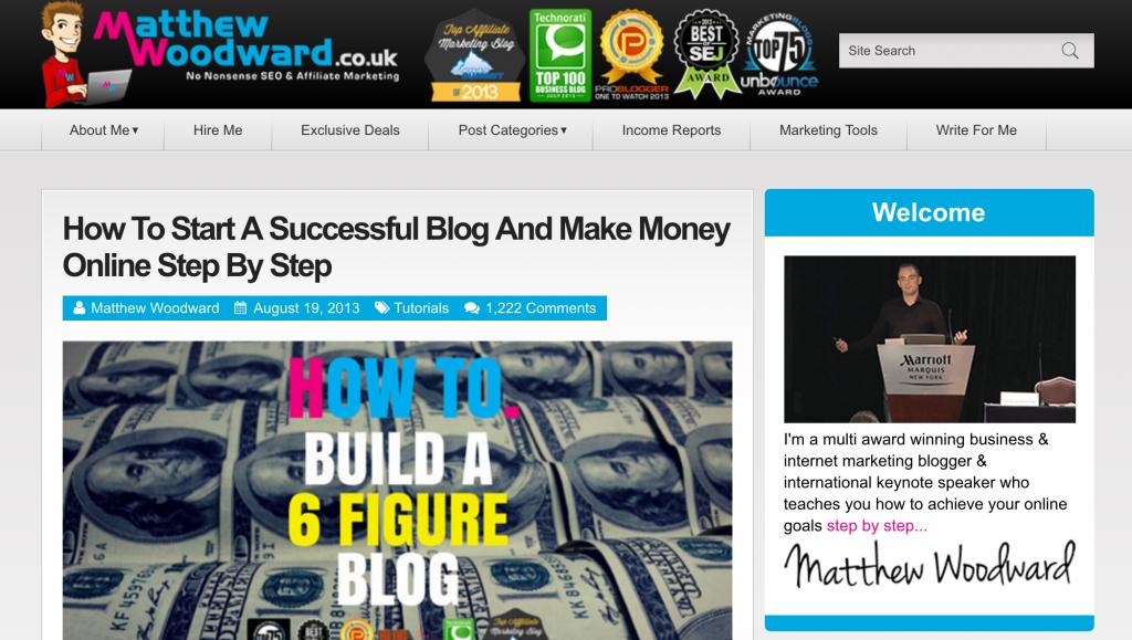 matthew woodward blog