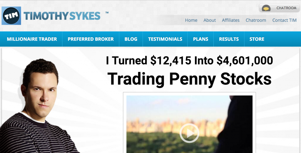 timothy sykes website