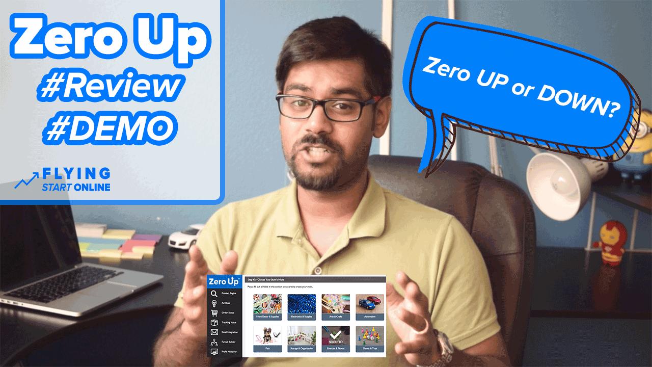 zero up review & demo