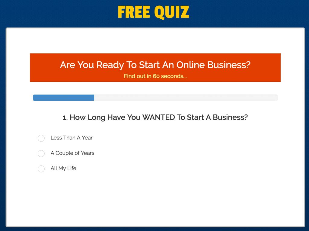 list building quiz