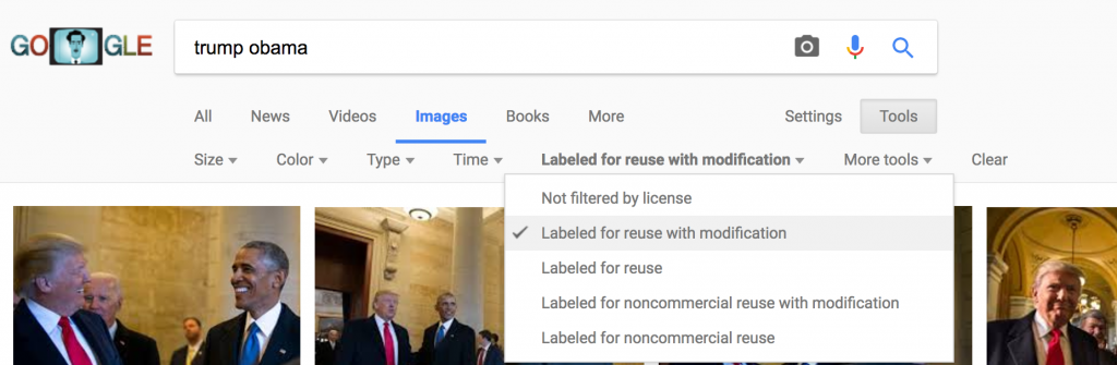 creative commons images from google