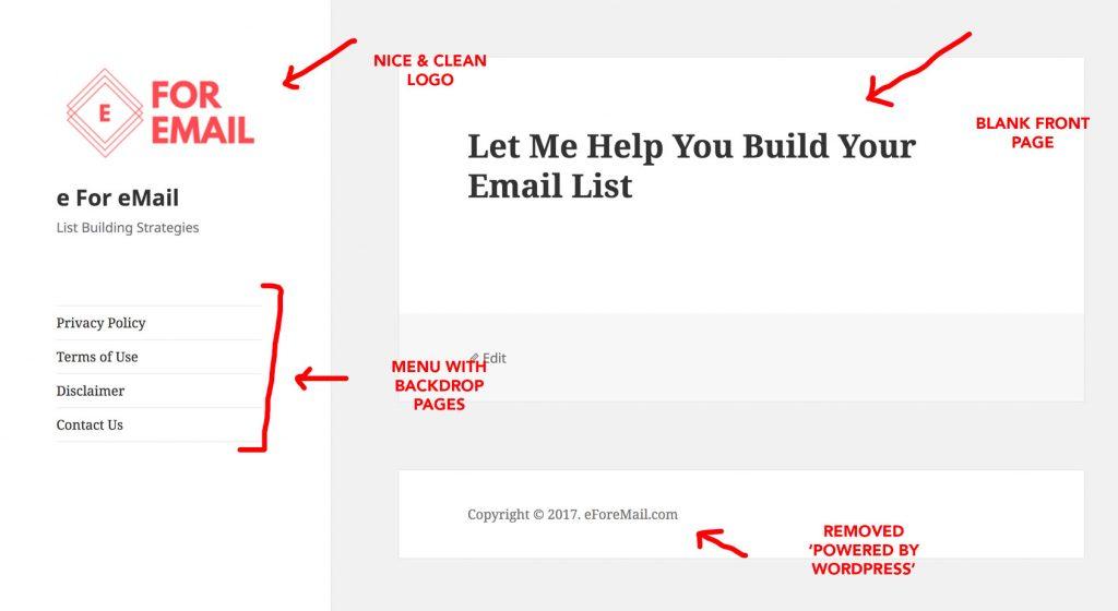wordpress quick start blog