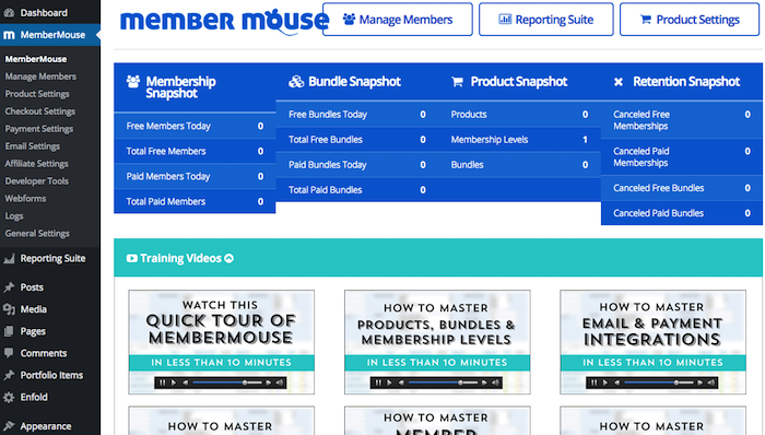 membermouse-wordpress-dashboard