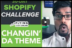 Shopify Theme Change