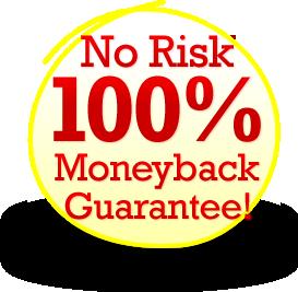 ZeroUp Money Back Guarantee
