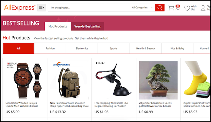 AliExpress Bestsellers Shopify reviews