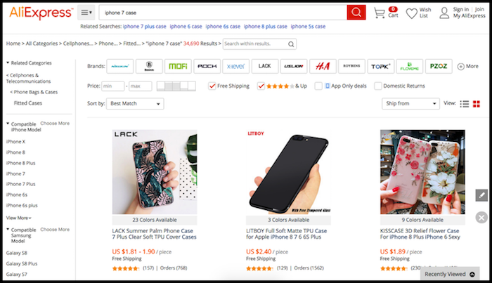 AliExpress Category Drilling For Shopify Reviews