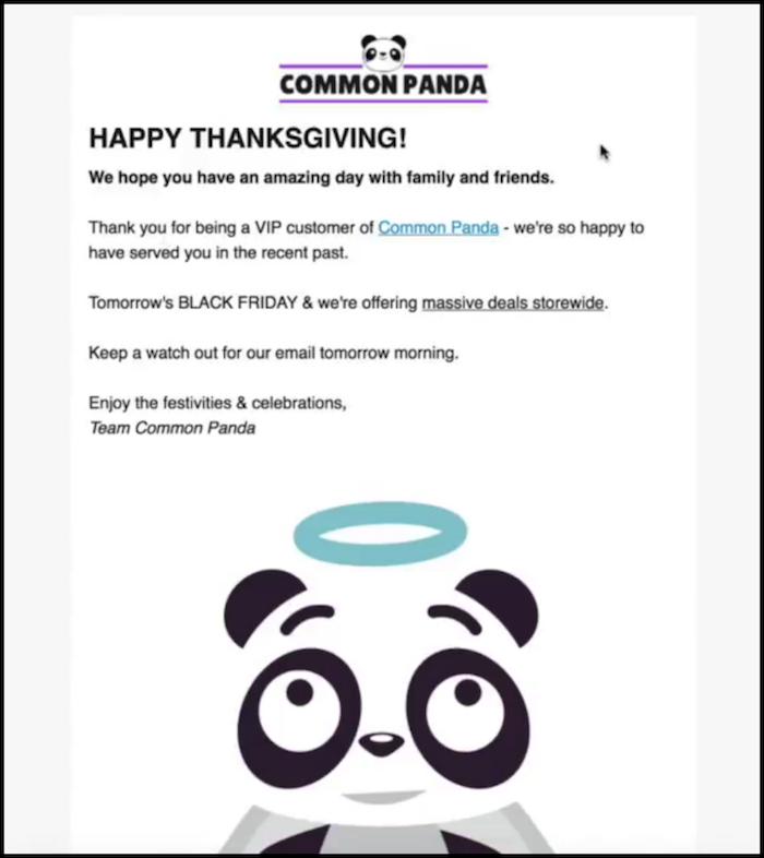 CommonPanda Shopify Black Friday