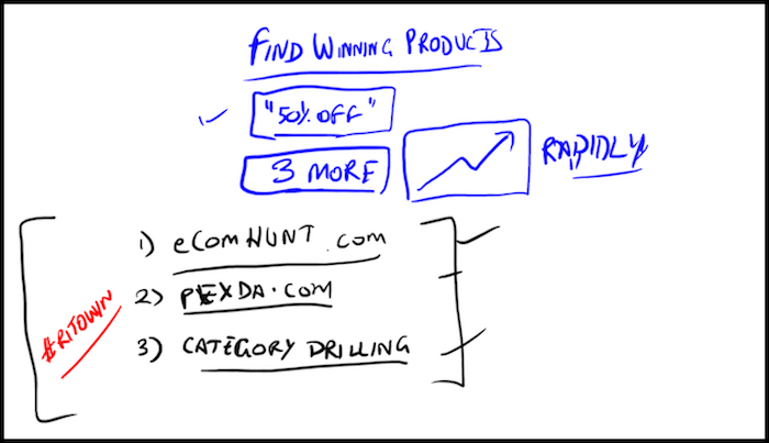 Find Winning Shopify Products Doodle