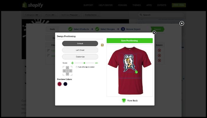 CustomCat Shopify