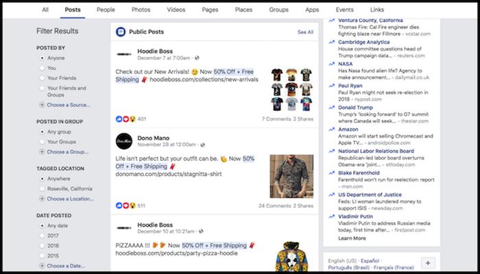 POD Facebook Ads