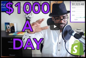$1k Per Day Dropshipping With Shopify