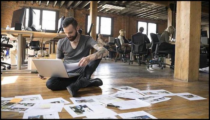 Entrepreneur Making Sacrifices for Financial Freedom