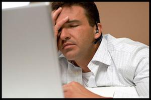 Upset Entrepreneur Making eCommerce Website Mistake
