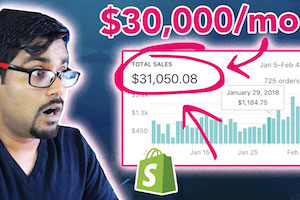 $30k Per Month With Shopify Drop Ship Business