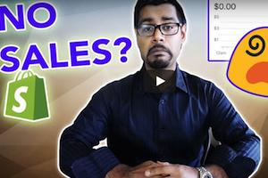 No Shopify Sales Solution