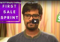 First Sale Sprint Shopify Challenge