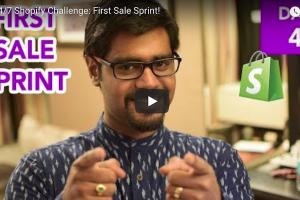 First Sale Sprint Day 4