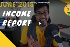 June 2018 Income Report
