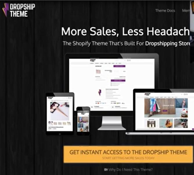 Dropship_theme