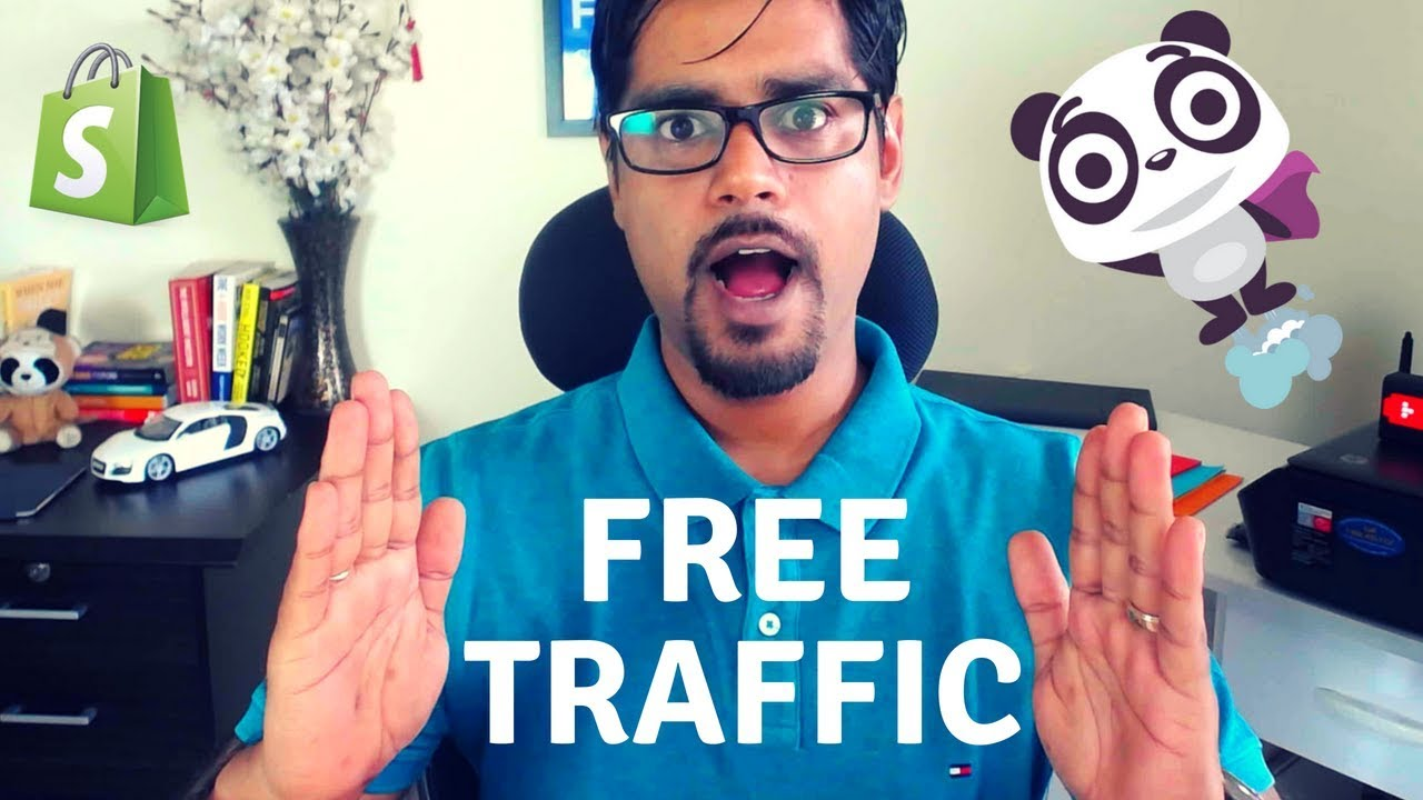 Free Traffic for Shopify Dropshipping